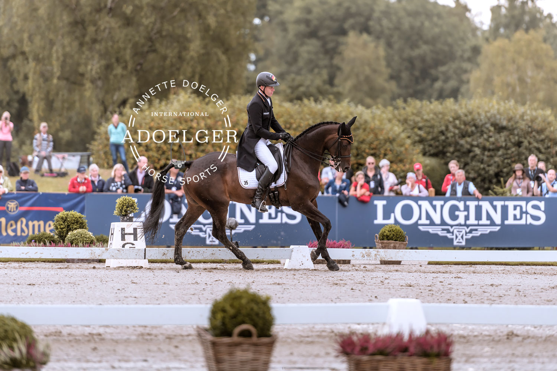 Andreas Dibowski FRH Corrida European Championships Eventing Luhmuehlen 2019