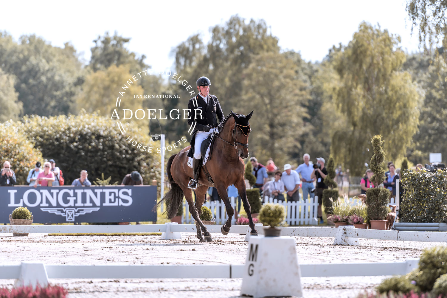 Joerg Kurbel Josera's Entertain You European Championships Eventing Luhmuehlen 2019